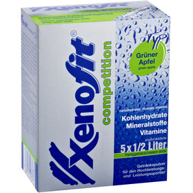 Xenofit Competition Carbohydrate Drink Sport Ernæring Green Apple 5 x 42g
